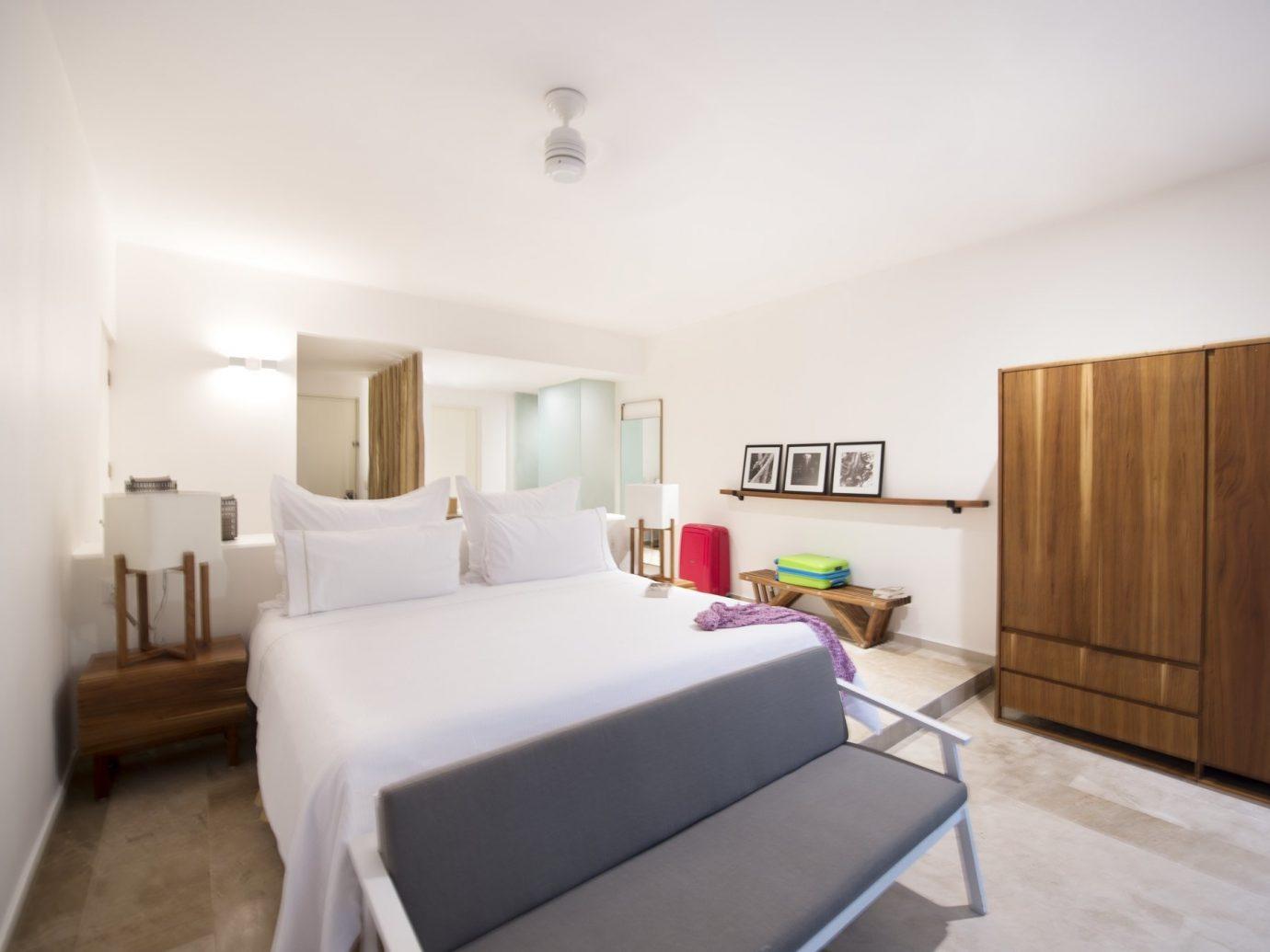 Bedroom at the Explorean in Cozumel