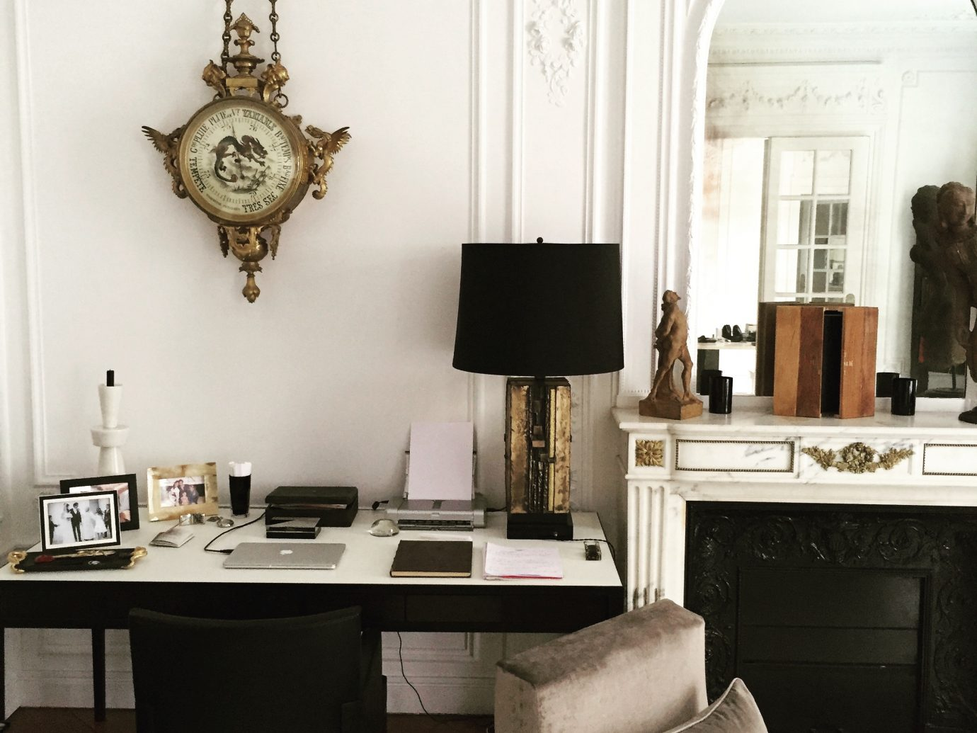 Interior shot of Elisabeth-Jones Hennessy's home and office