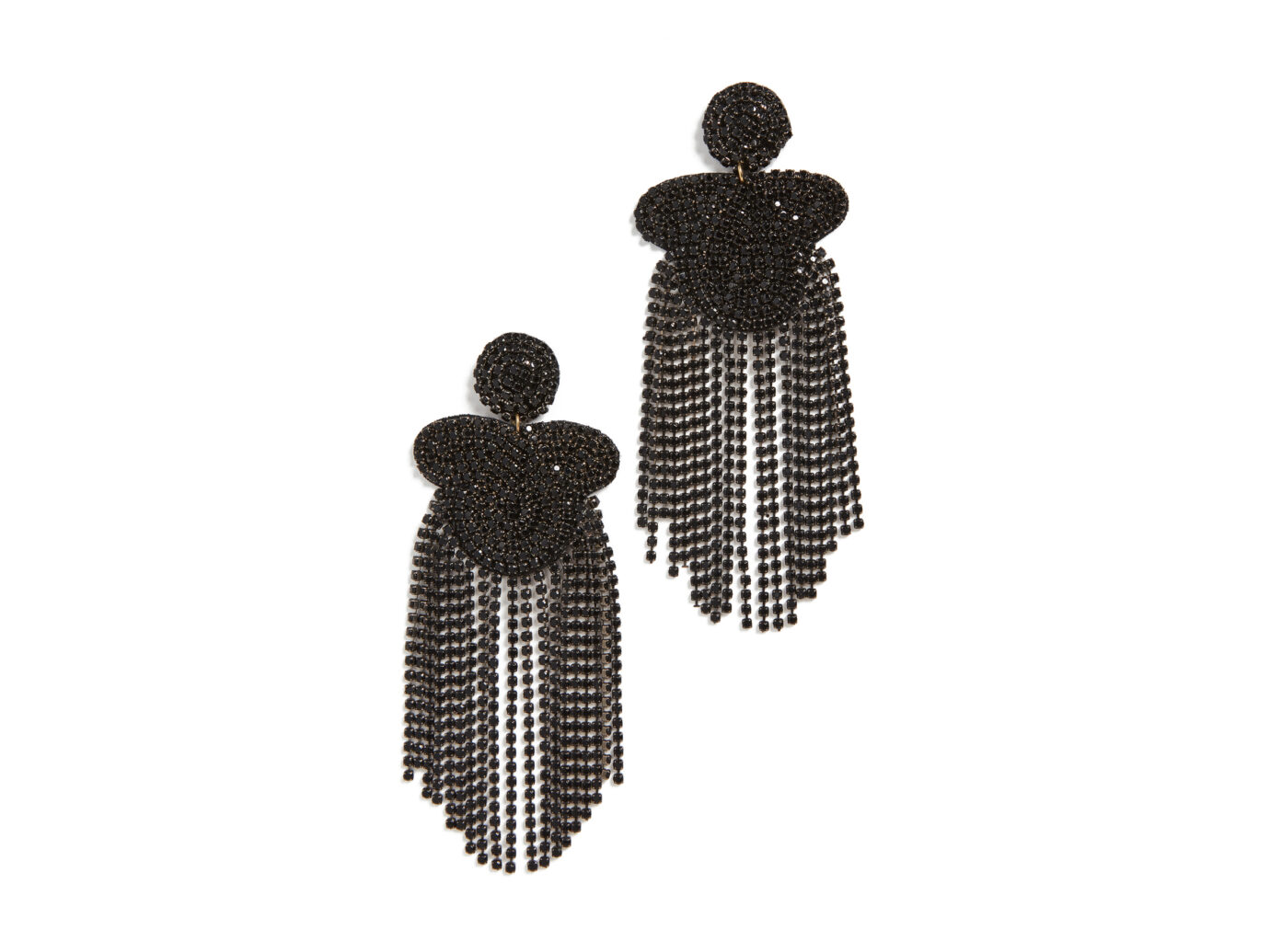 Kenneth J Lane Crystal Waterfall Earrings