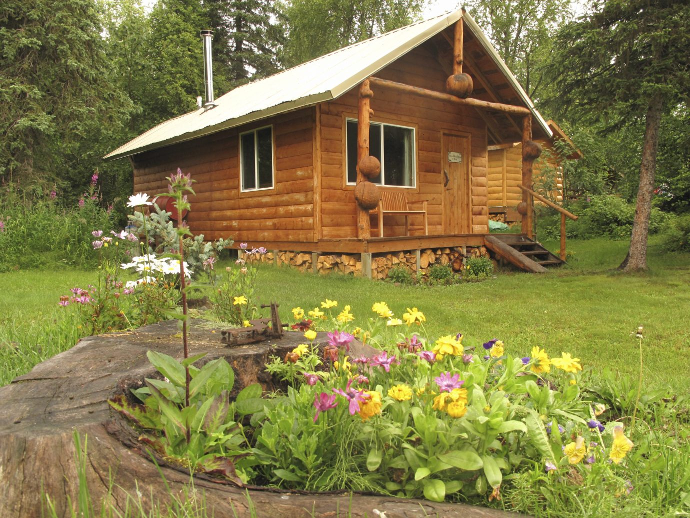 Mountian Pass Cabin at Winterlake Lodge