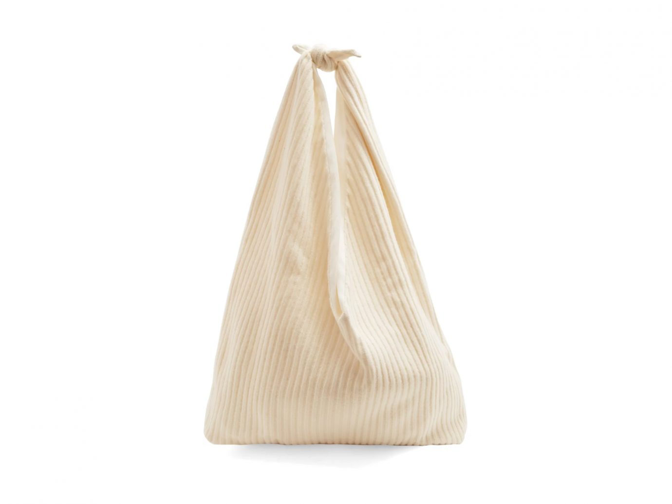 THE ROW Bindle ribbed-knit cashmere shoulder bag