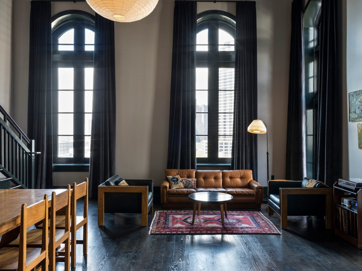 Sleek suite interior at Ace Hotel New Orleans