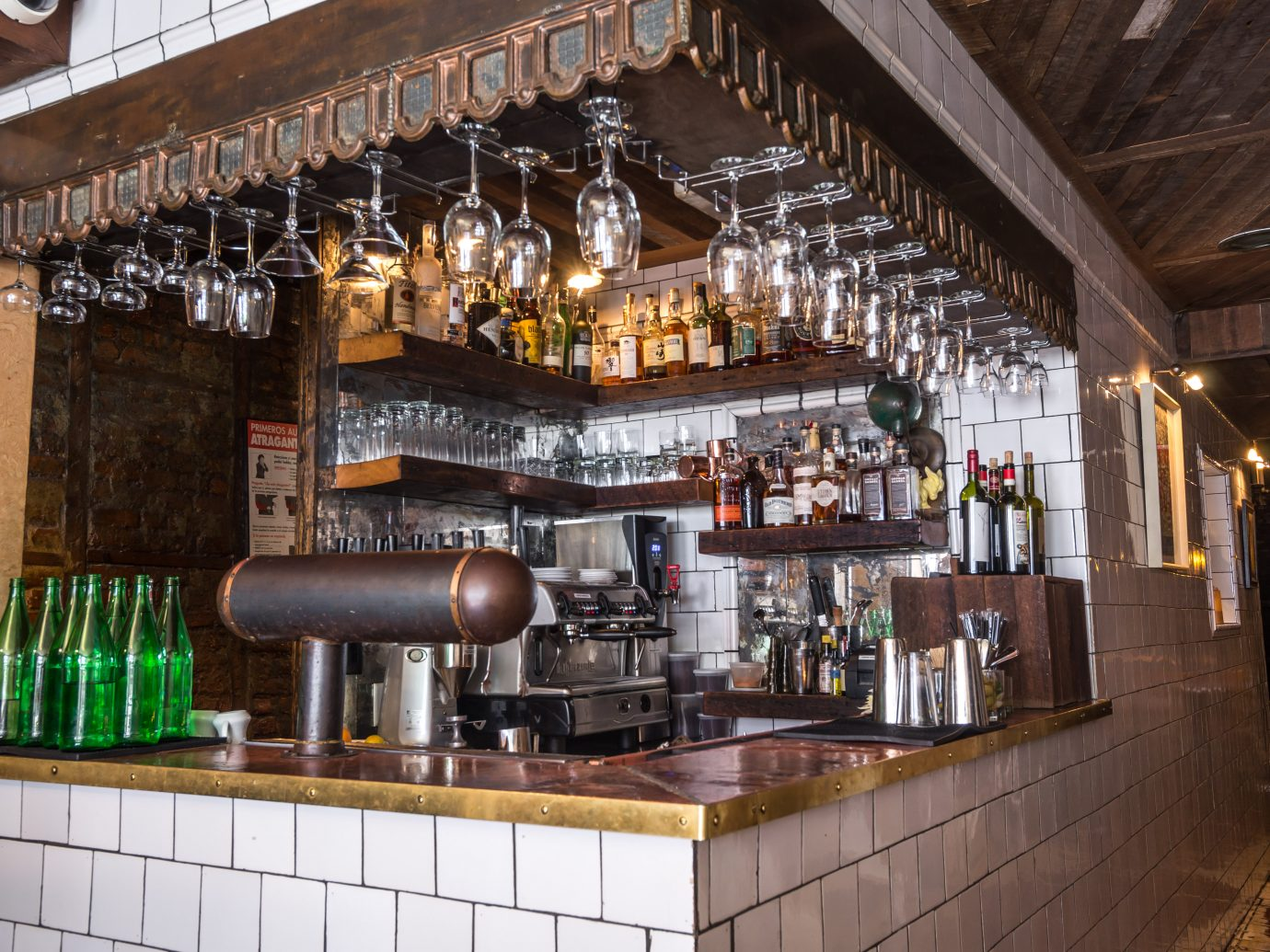 bar at Tiny's NYC