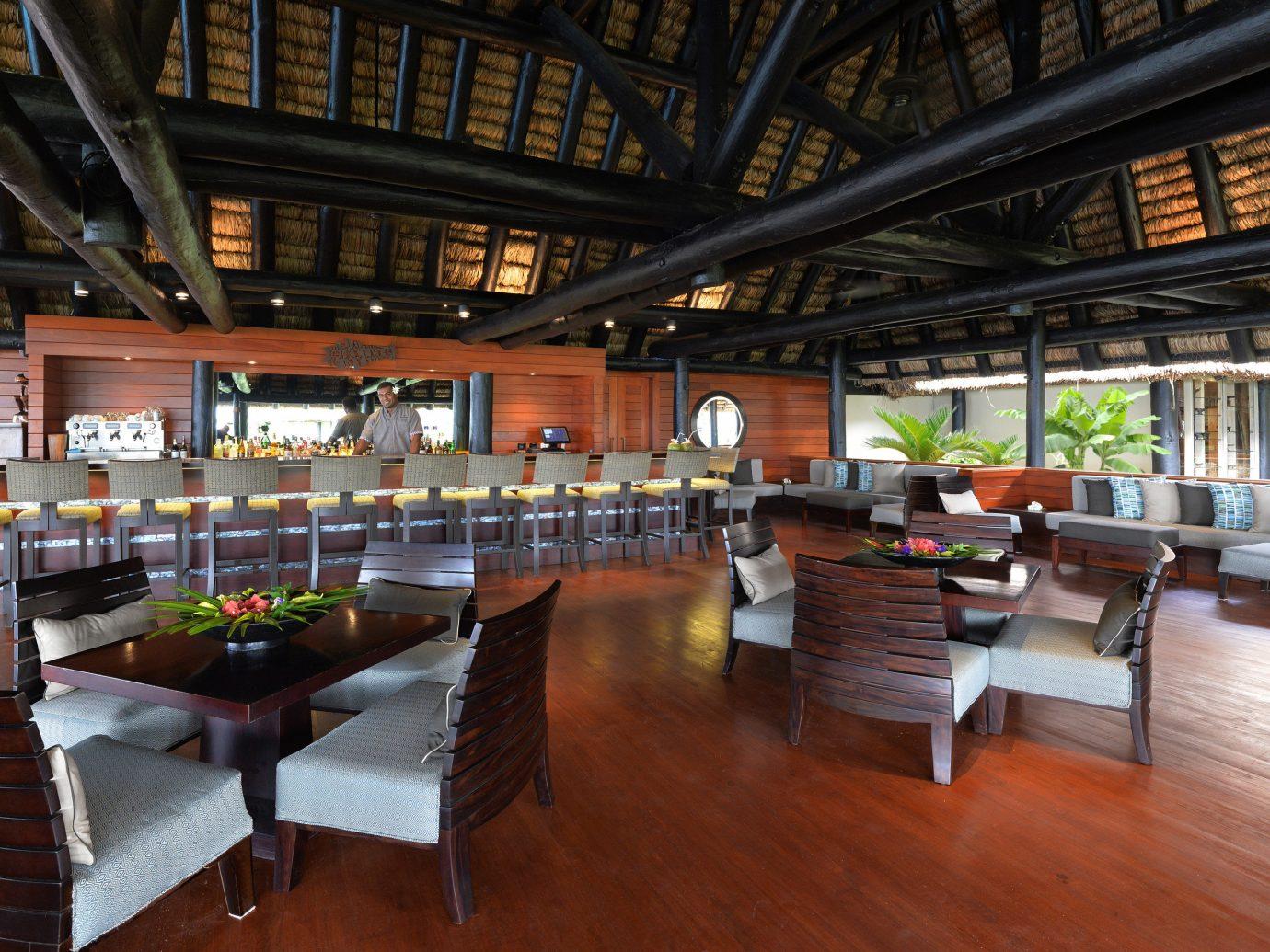 restaurant at Jean-Michel Cousteau Resort