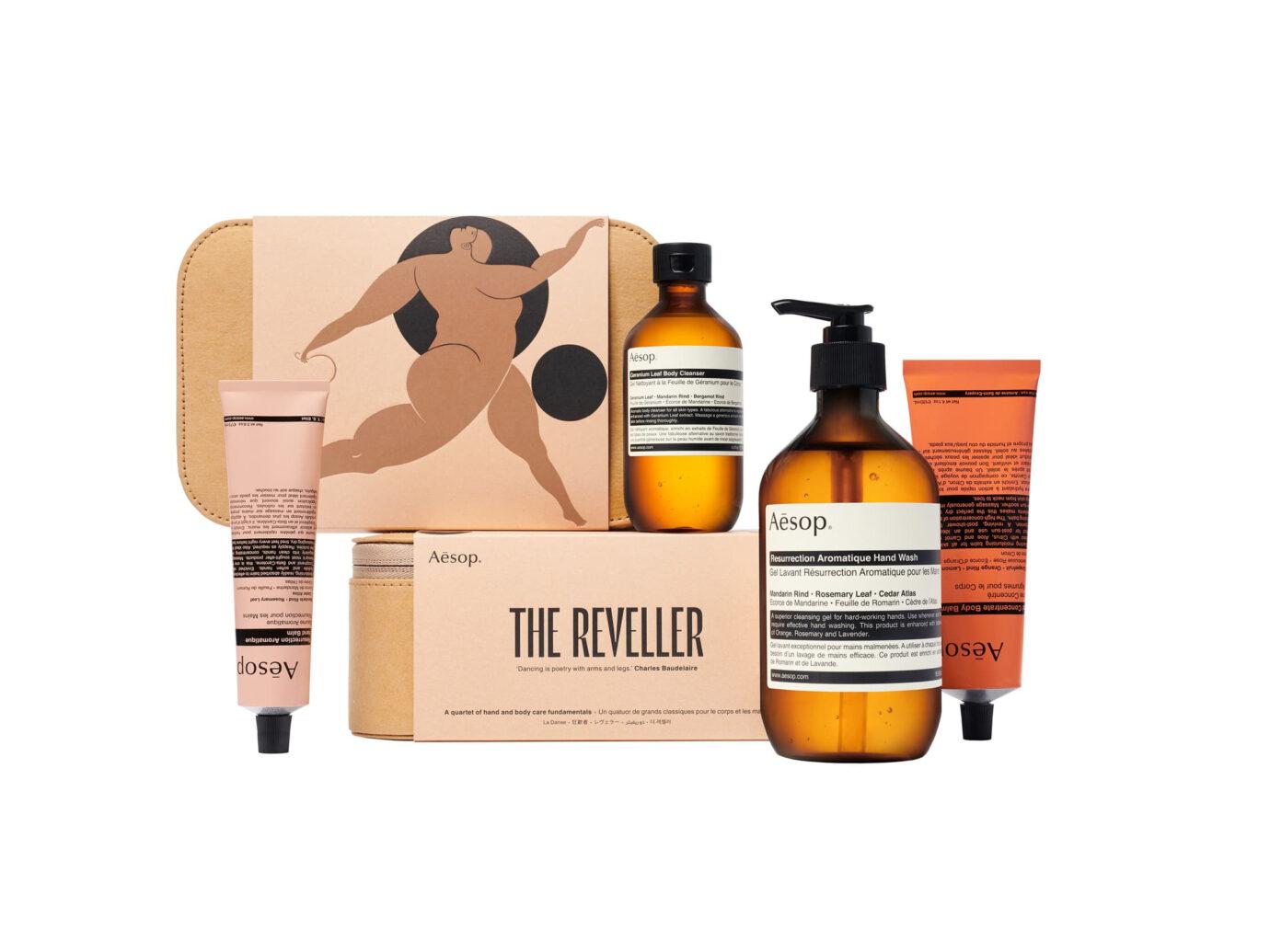 Aesop The Reveller Hand & Body Care Set