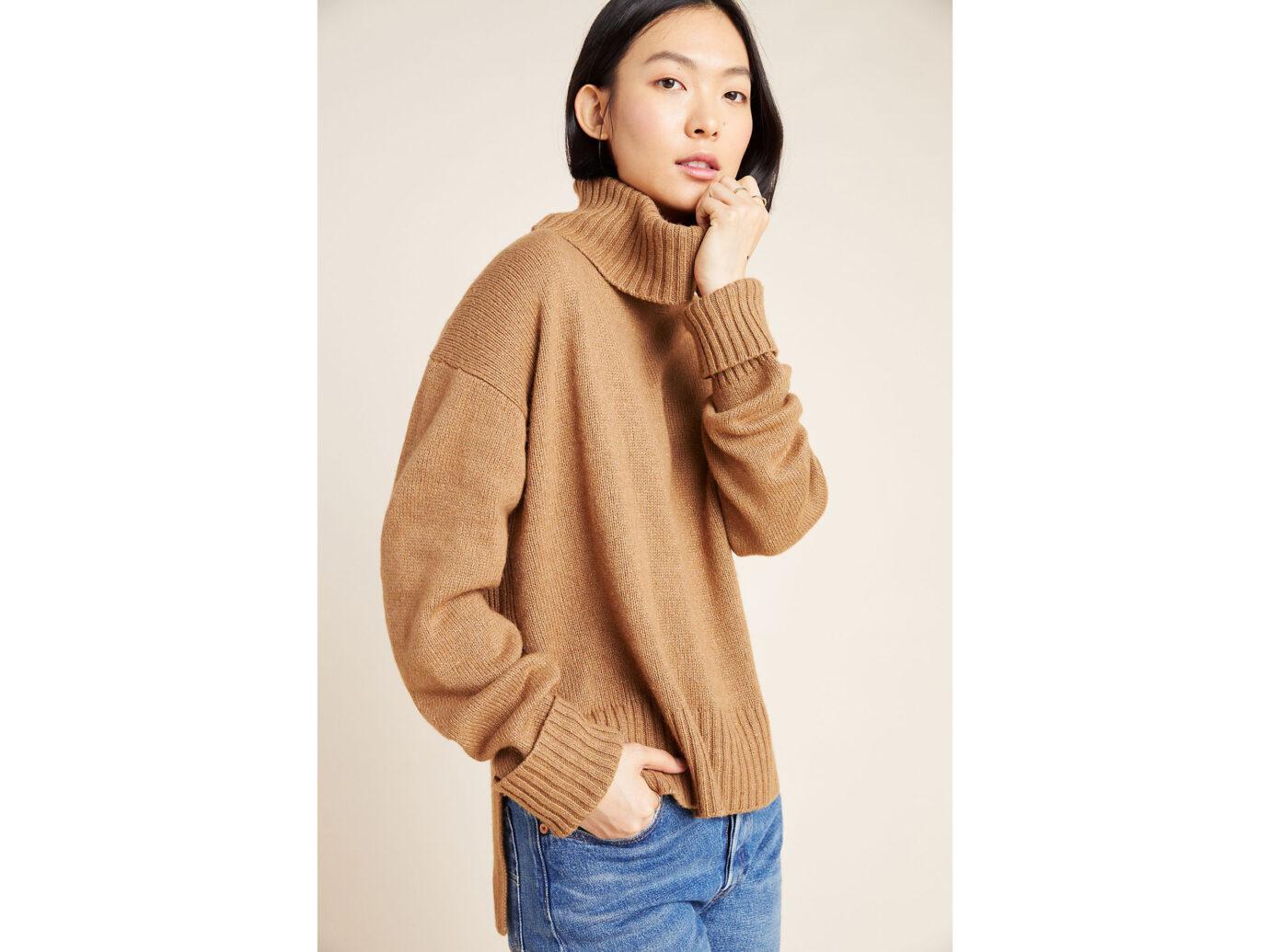 Anthropologie Blair Turtleneck Sweater