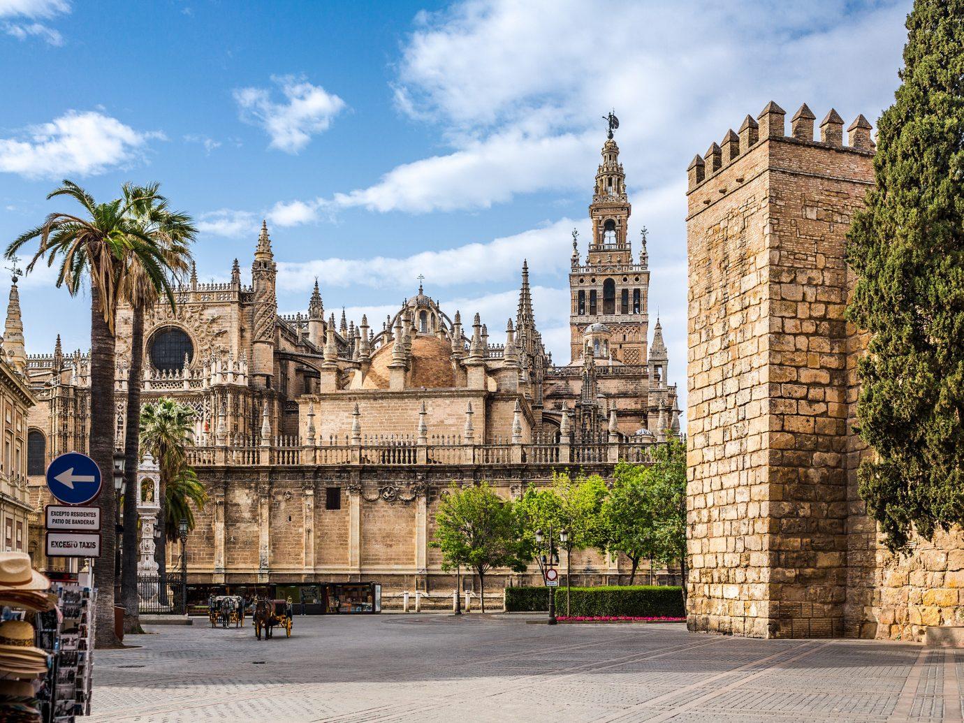 View of buildings in Spain