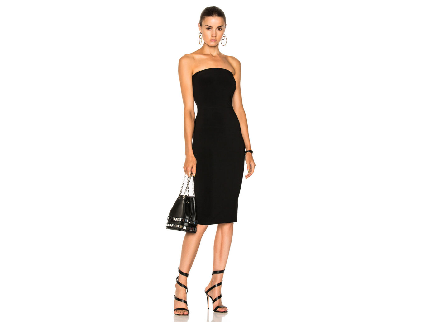 Norma Kamali Strapless Dress
