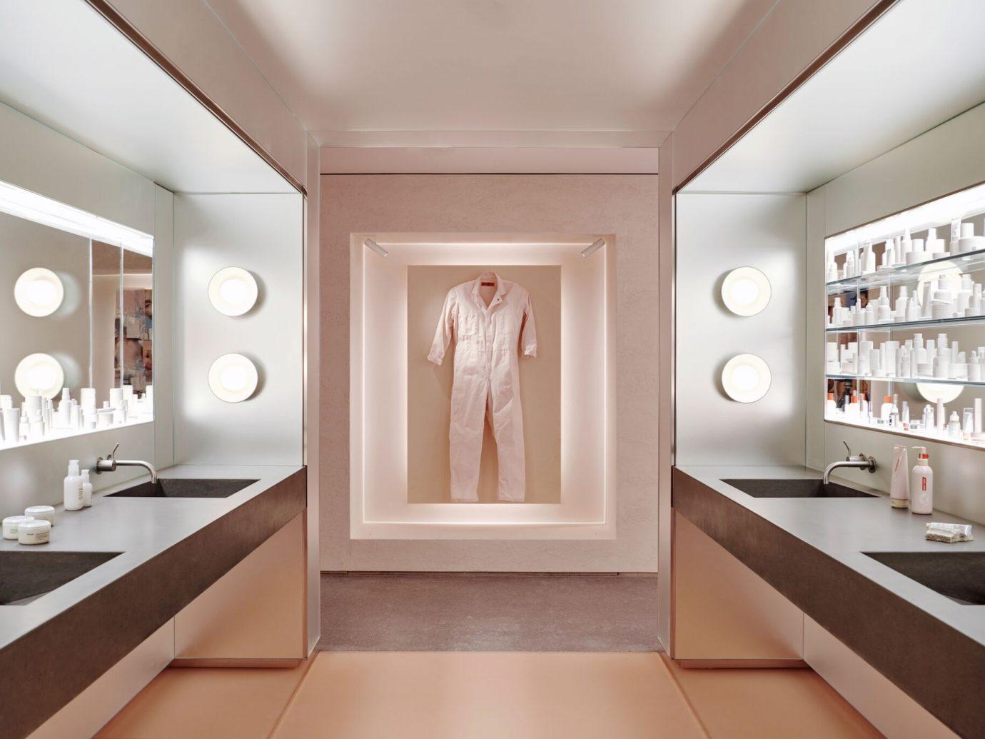 Glossier flagship store interior