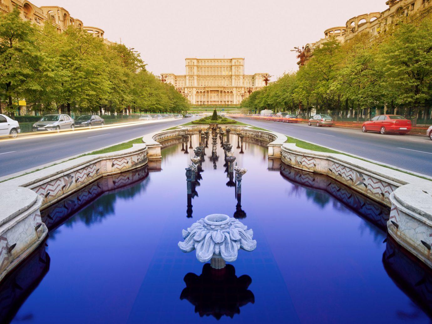 Parliament building in Bucharest, Romania