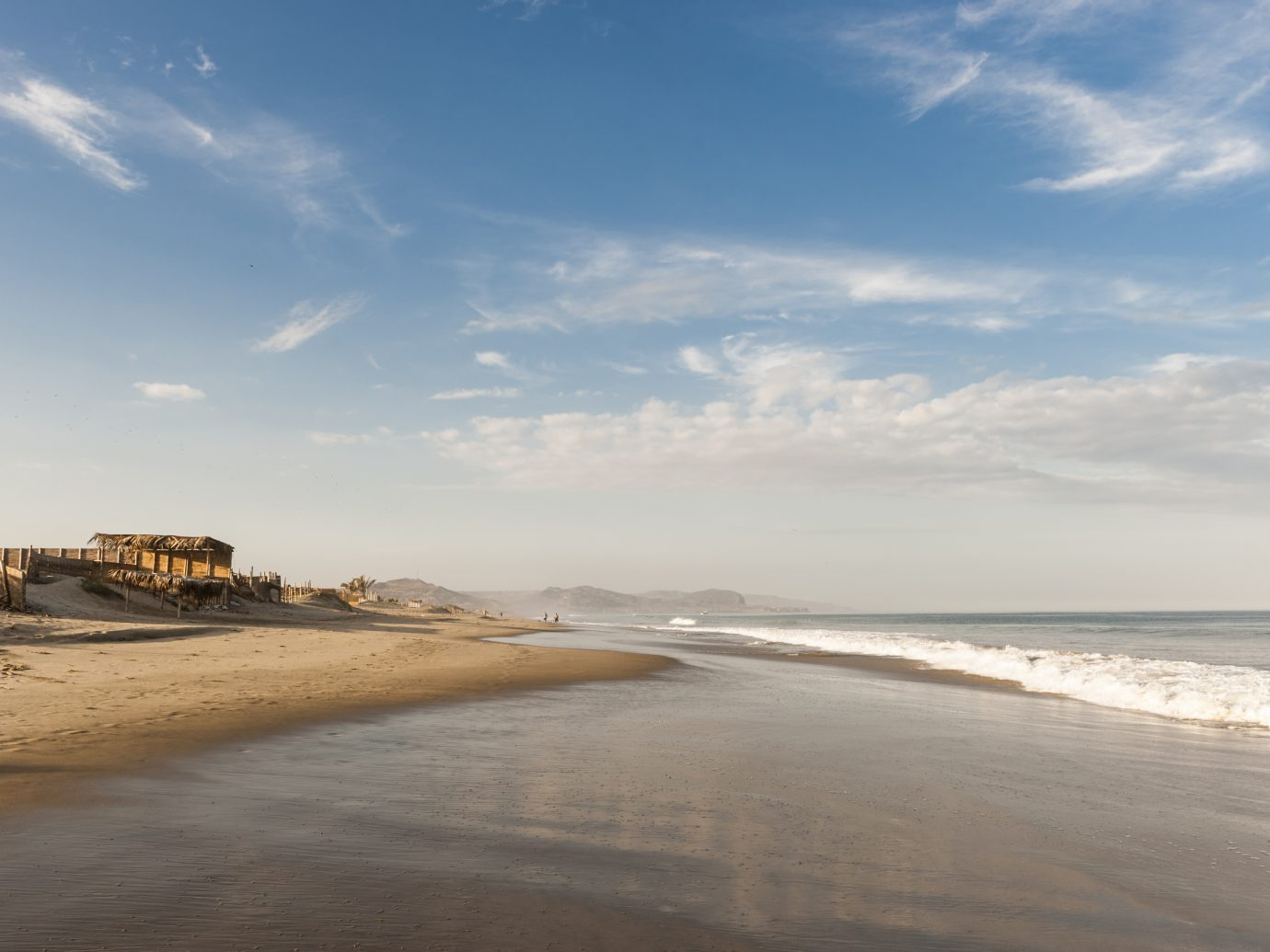 Mancora in Peru, popular northern beach and surf town