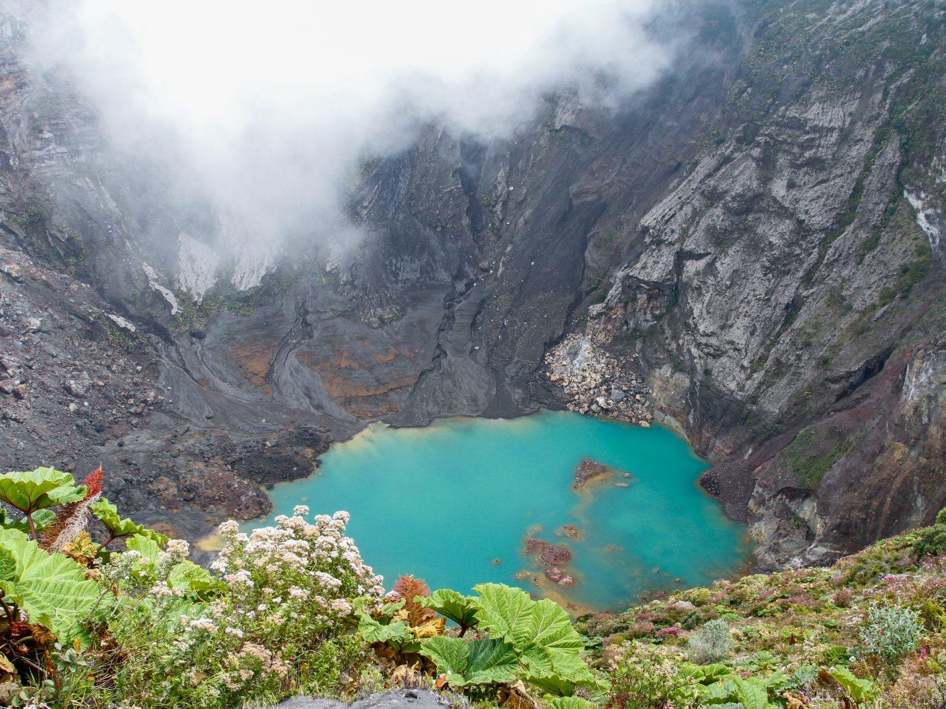Irazu volcano in Costa Rica