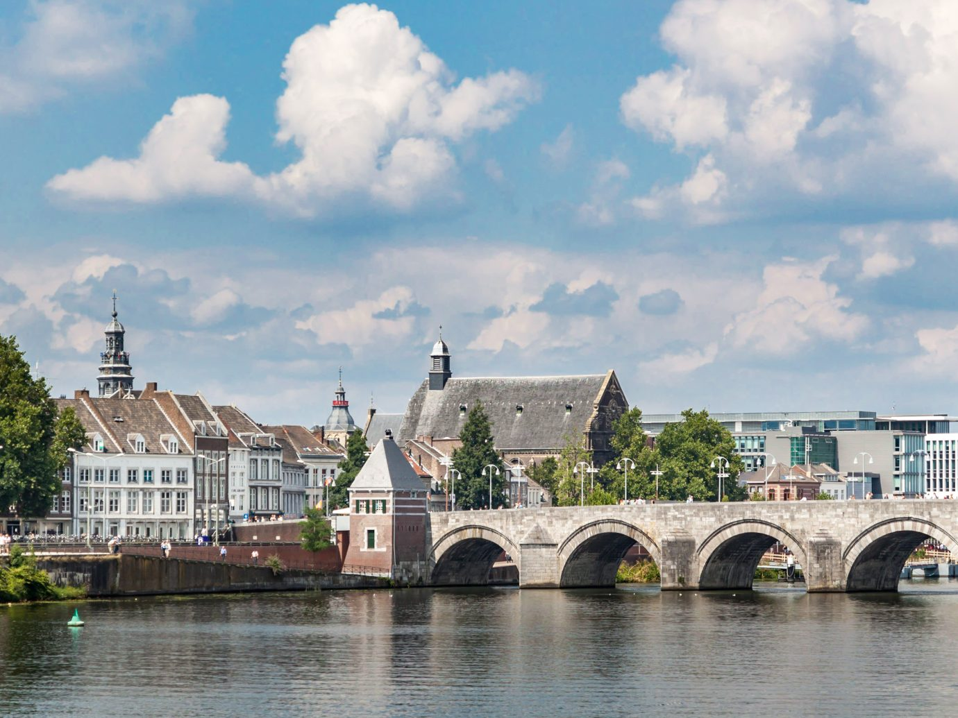 Beautiful view of Maastricht