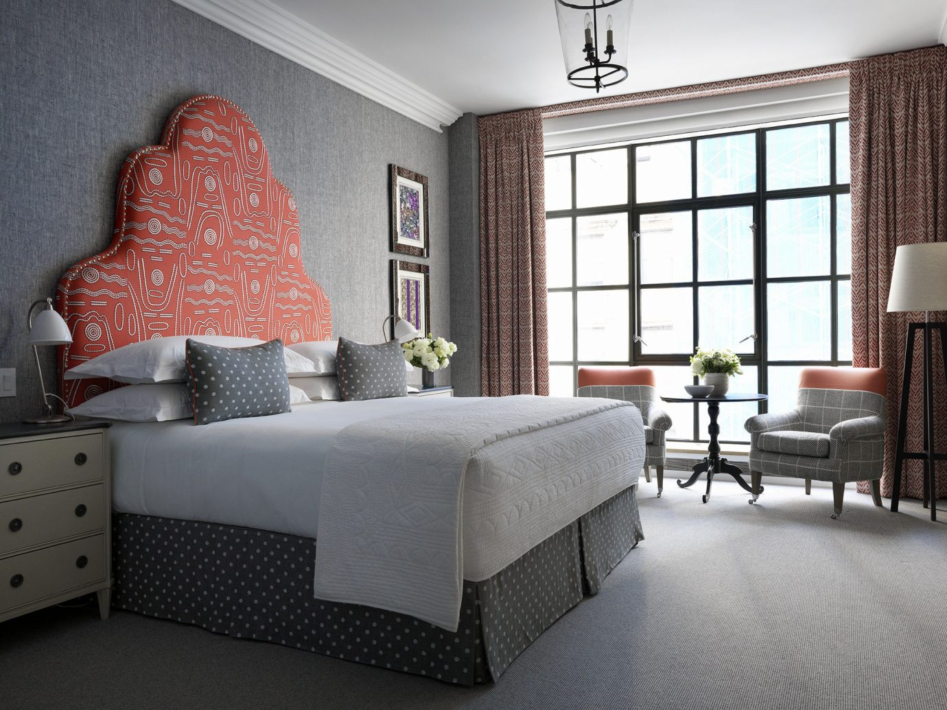Bedroom at the Whitby Hotel in NYC