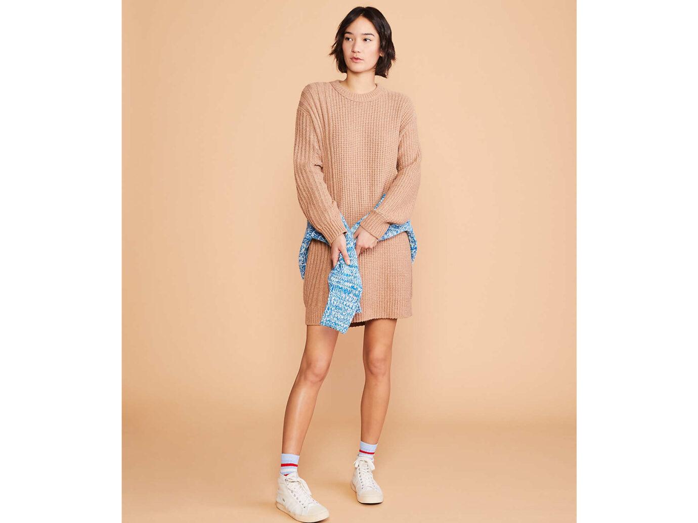 Lou & Grey Ribside Sweater Dress