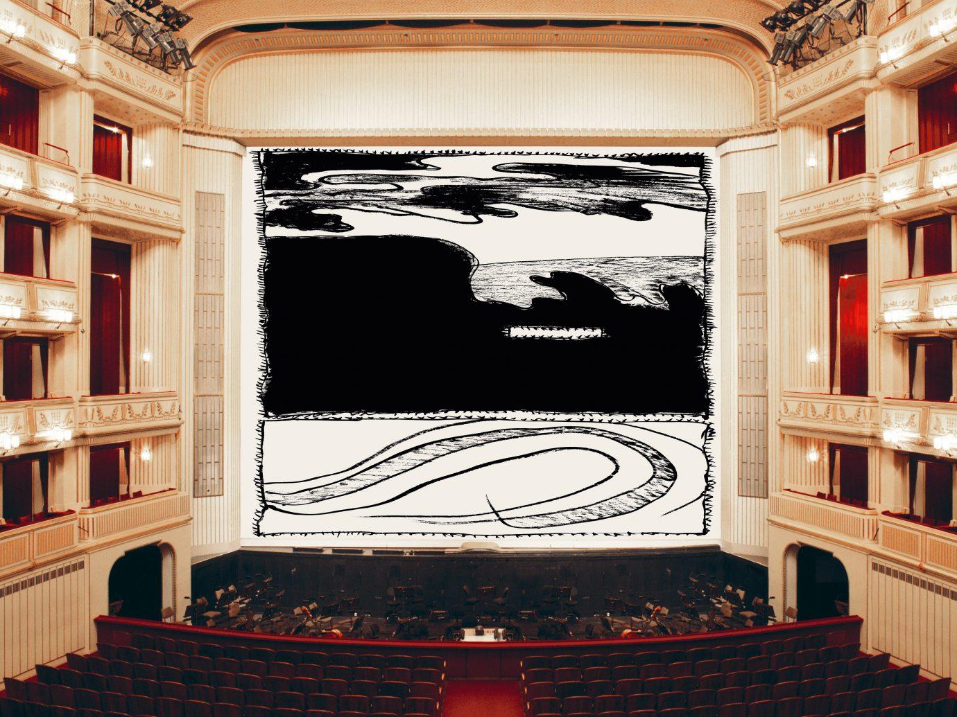 view of Wiener Staatsoper from the balcony