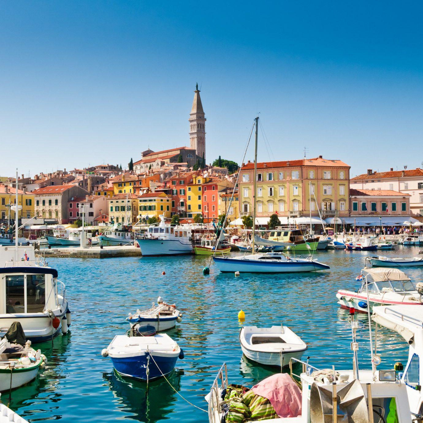 View of Rovinj, Croatia