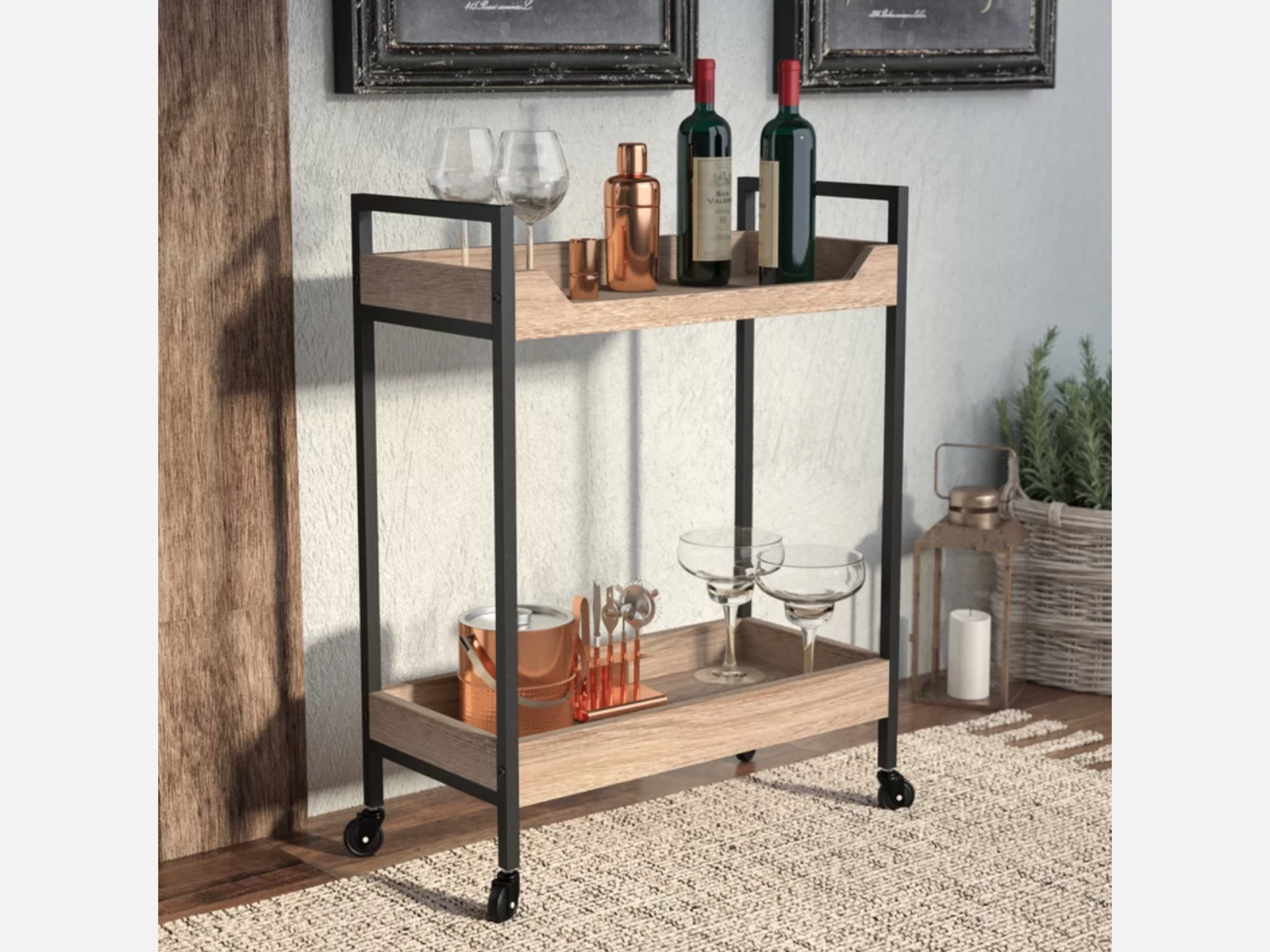 Laurel Foundry Modern Farmhouse Ermont Bar Cart