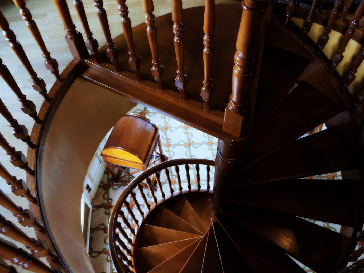 Staircase at Hôtel Carlton Lille