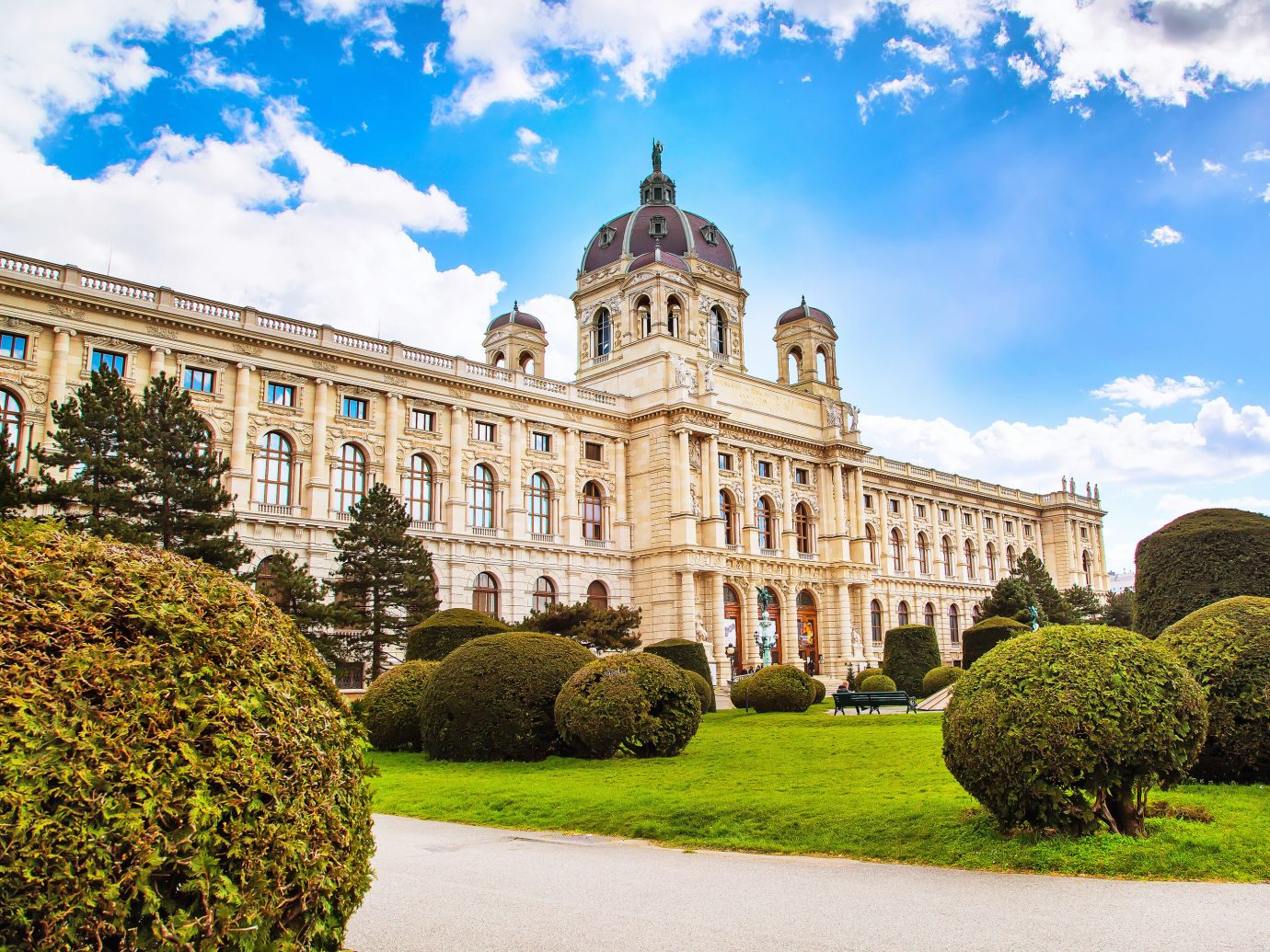 Outside of Kunsthistorisches Museum