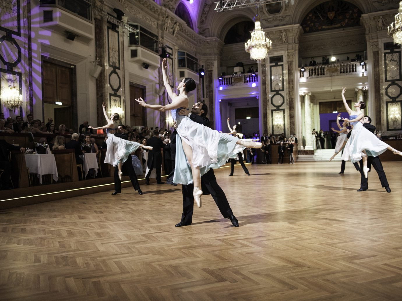 Ballet dancers at Confectioners' Ball