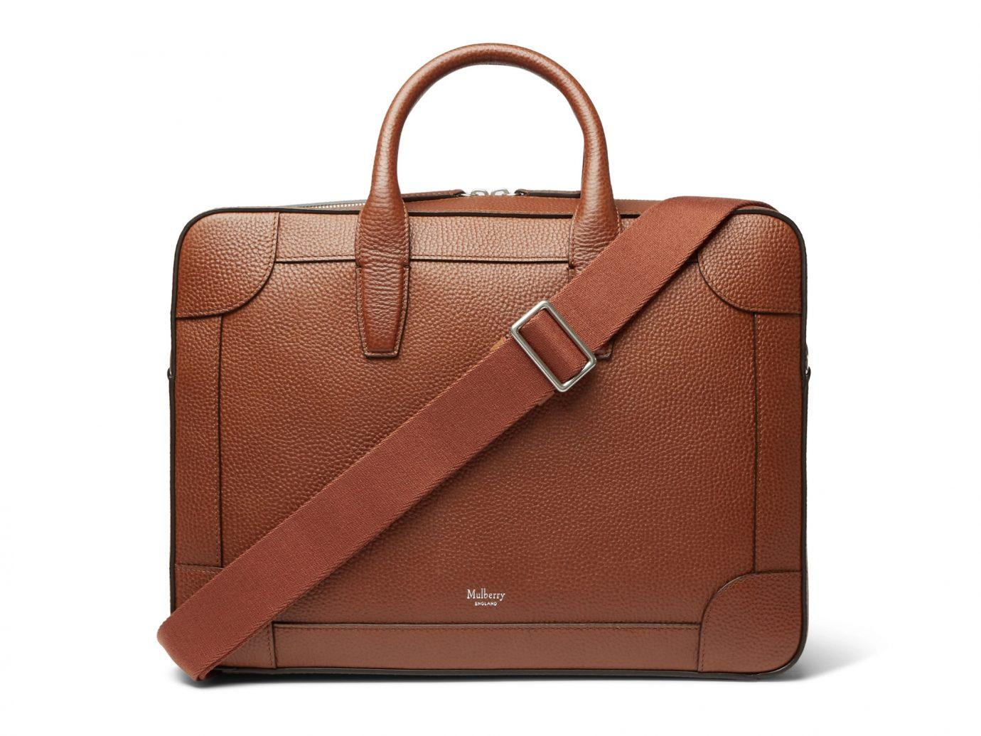 Mulberry Belgrave Full-Grain Leather Briefcase