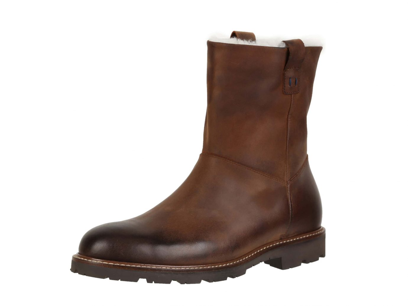 Ross and Snow Kenneth Boot with Genuine Shearling