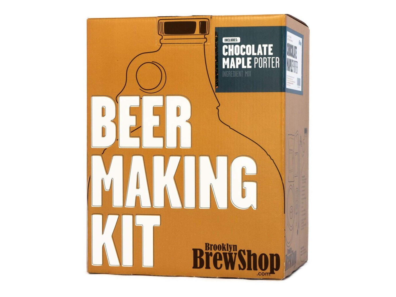Brooklyn Brew Shop Chocolate Maple Porter Beer Making Kit