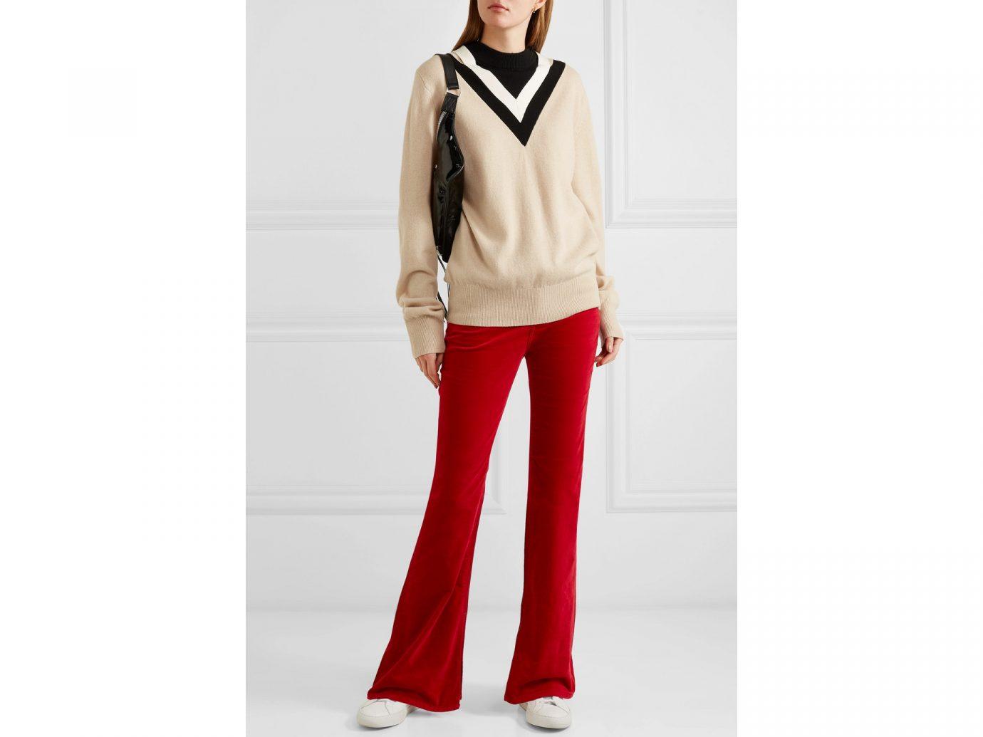 RAG & BONE Bella velvet bootcut pants