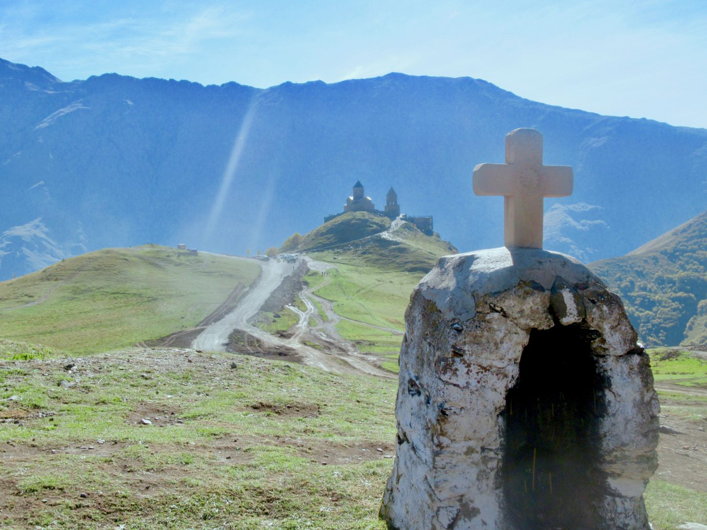 Monastery at Mount Kazbek