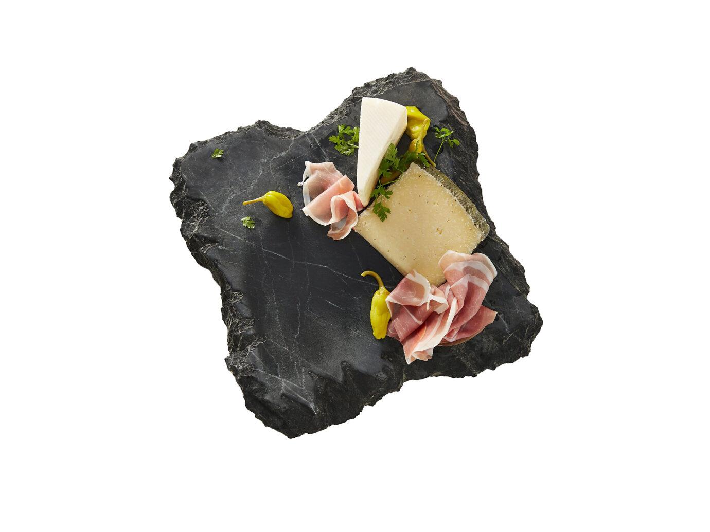 Anthropologie Slate Cheese Board