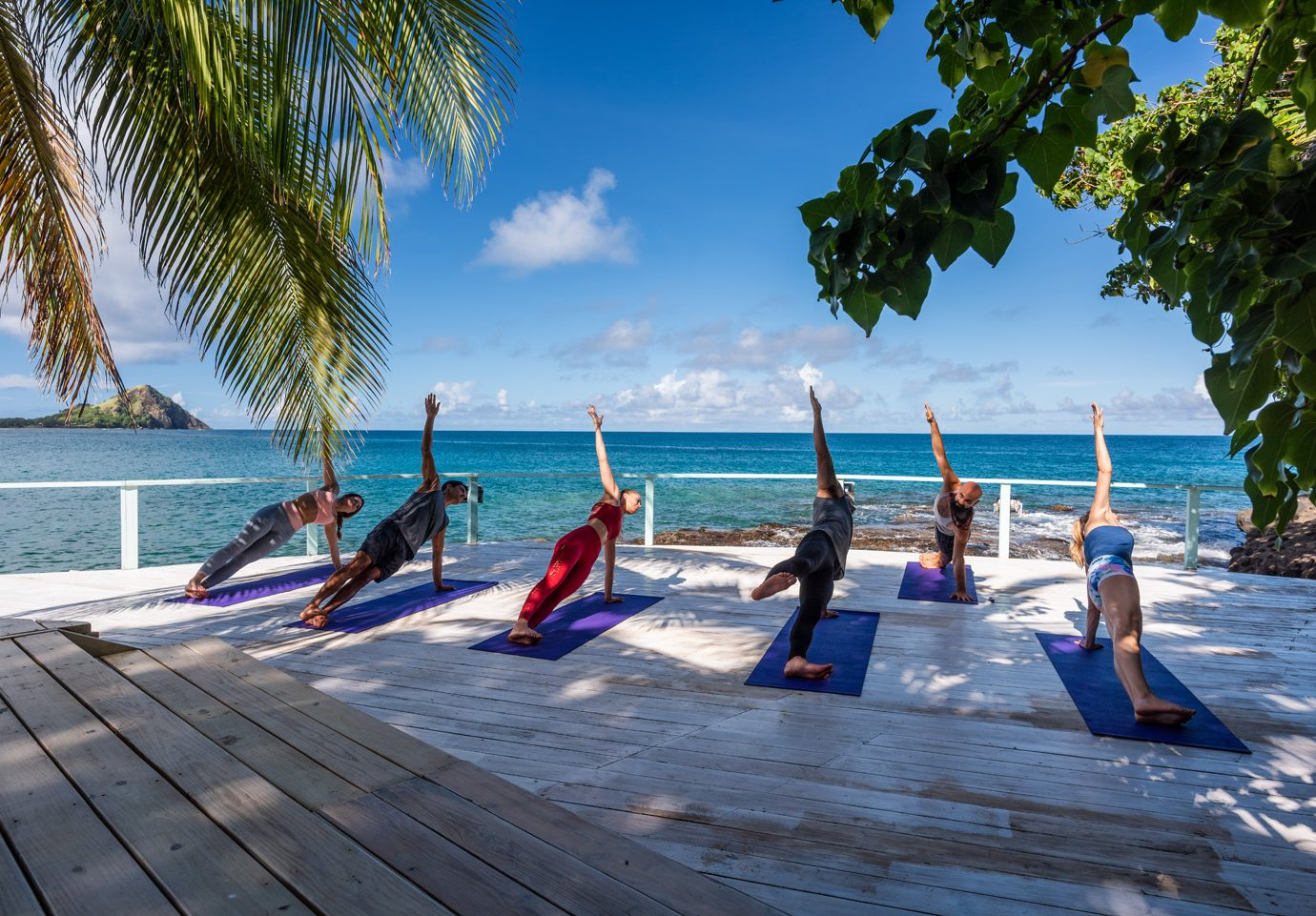 Outdoor Yoga at The BodyHoliday, St. Lucia
