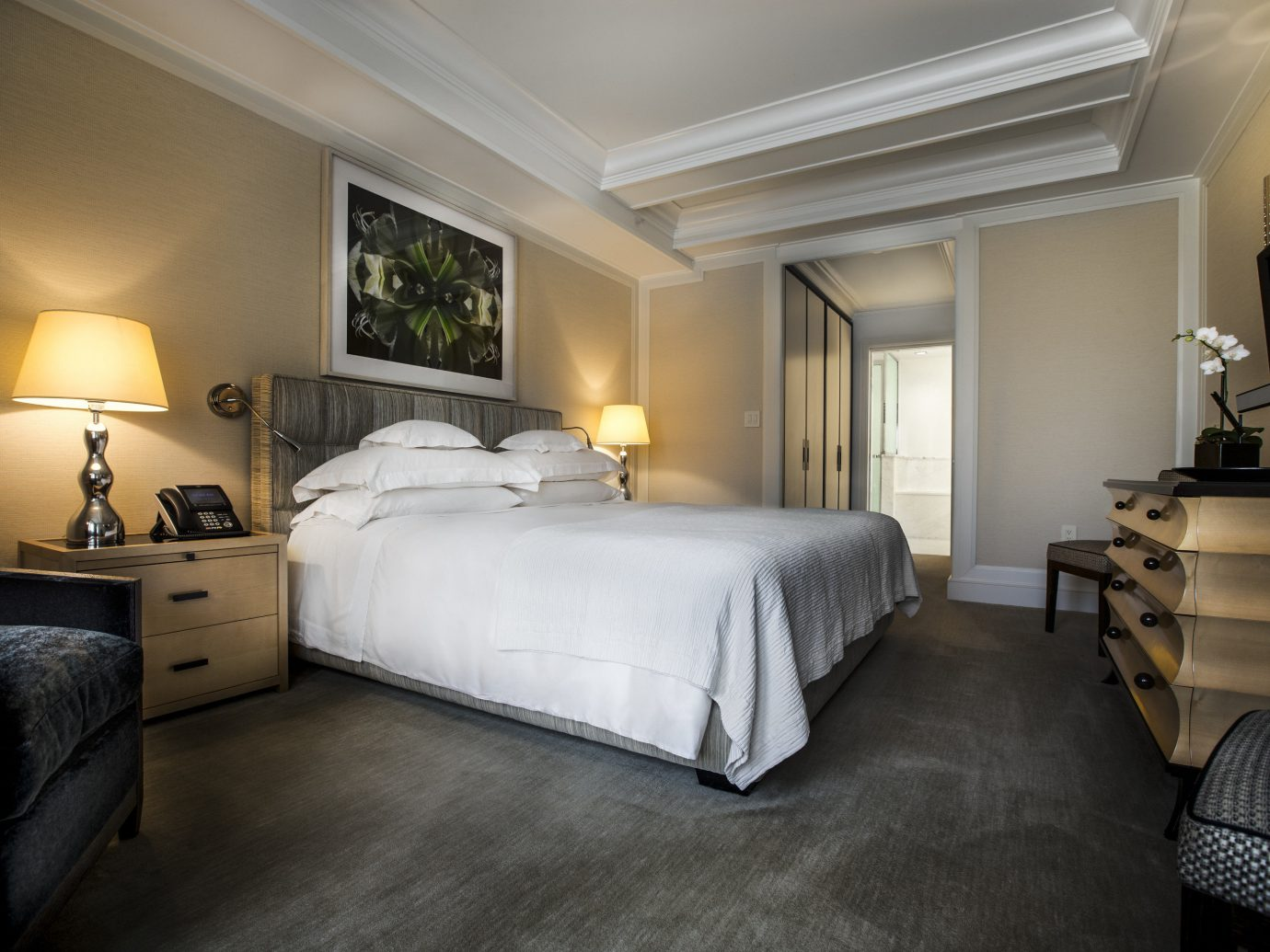 Bedroom at The Mark hotel