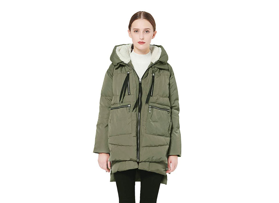 Orolay Hooded Winter Jacket