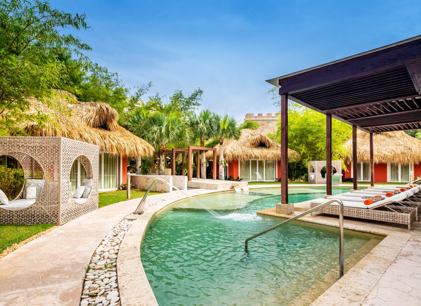 pool and spa at Sanctuary Cap Cana, Punta Cana