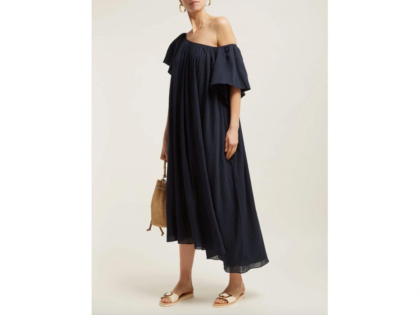 Loup Charmant Hydrus off-the-shoulder cotton dress