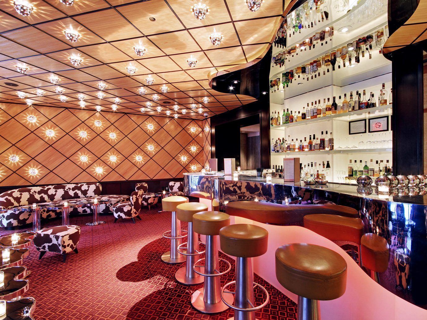 Bar at The Mark Hotel in NYC
