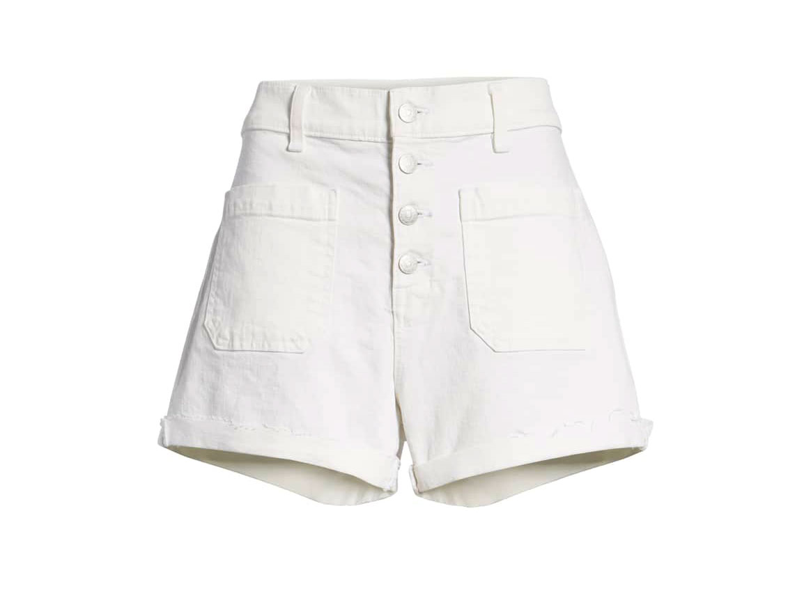 Madewell White Denim shorts