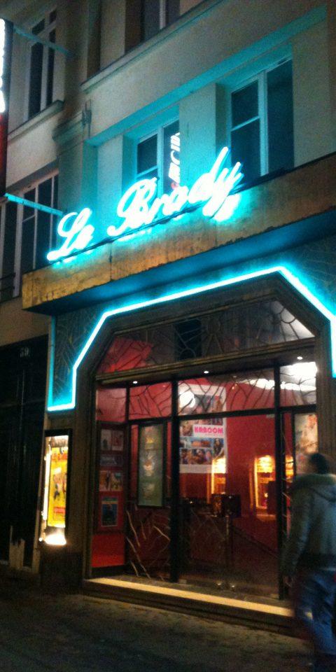 View of Le Brady theatre in Paris