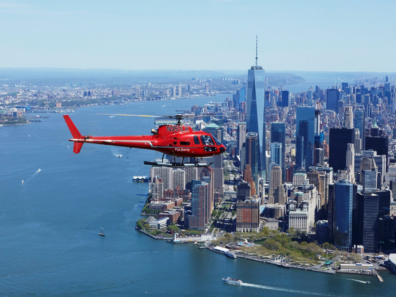 Helicopter over NYC
