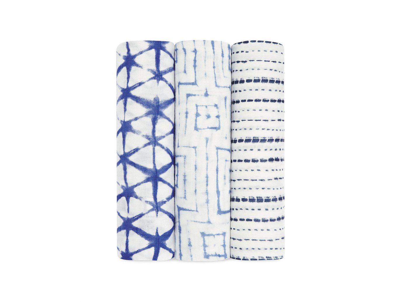 Aden + Anais Indigo Shibori Silky Soft Swaddle muslin cloths and blankets