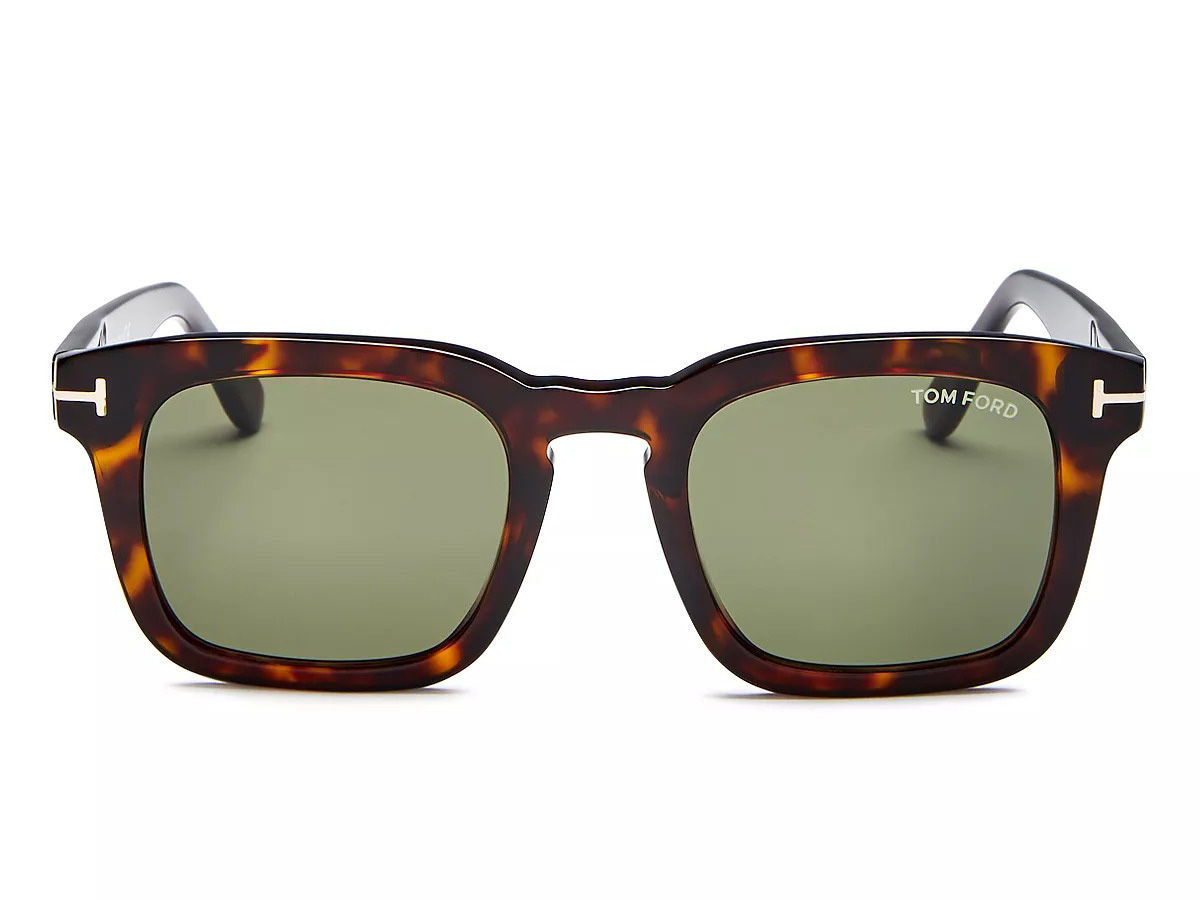 Tom Ford Men's Dax Square Sunglasses