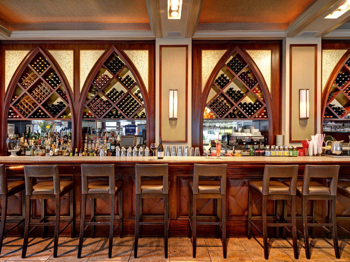 Bar inside Madison & Vine