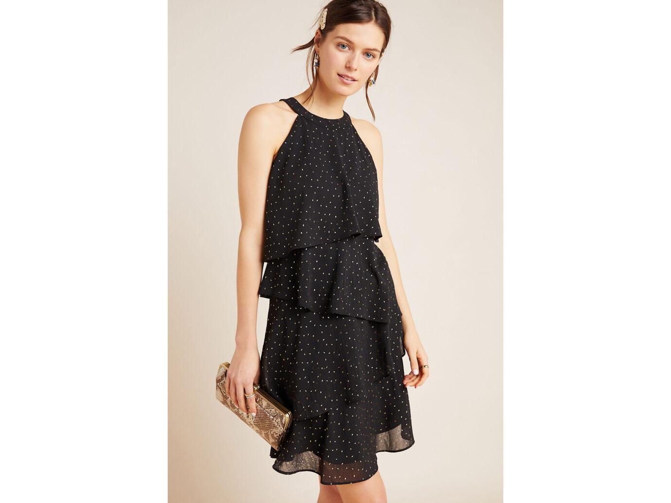 Ro & De Tallie Tiered Mini Dress