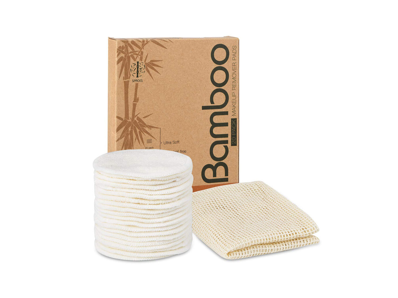 Reusable Organic Cotton Bamboo Rounds