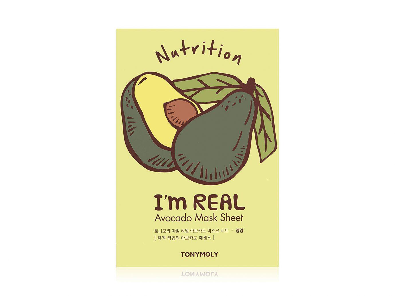TONYMOLY I'm Real Avocado Mask Sheet 10-Pack