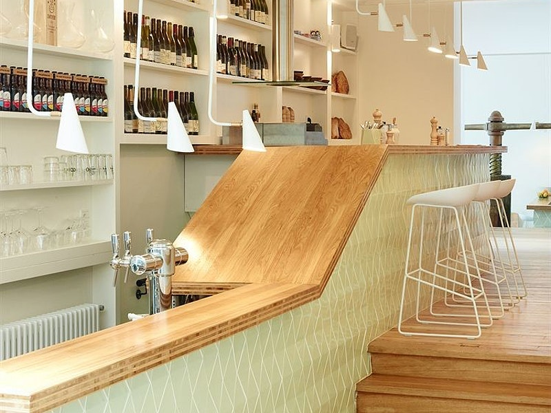 Bar at Hotel des Galeries