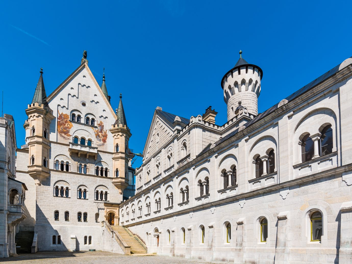 Inside of Neuschwanstein castle