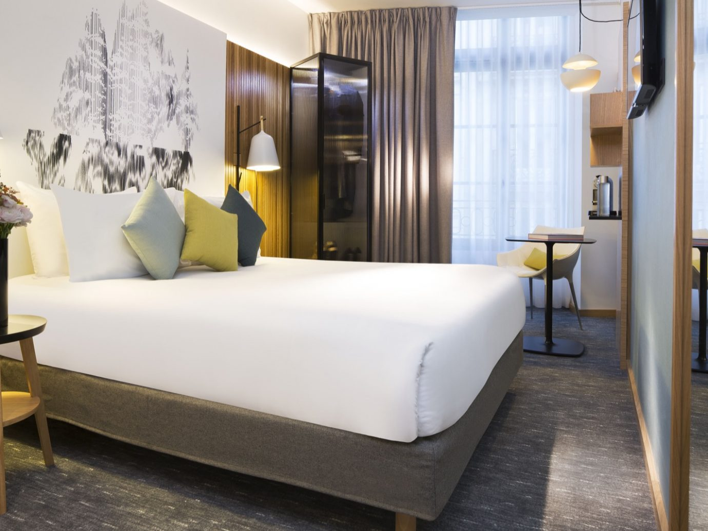 Bedroom at Drawing Hotel