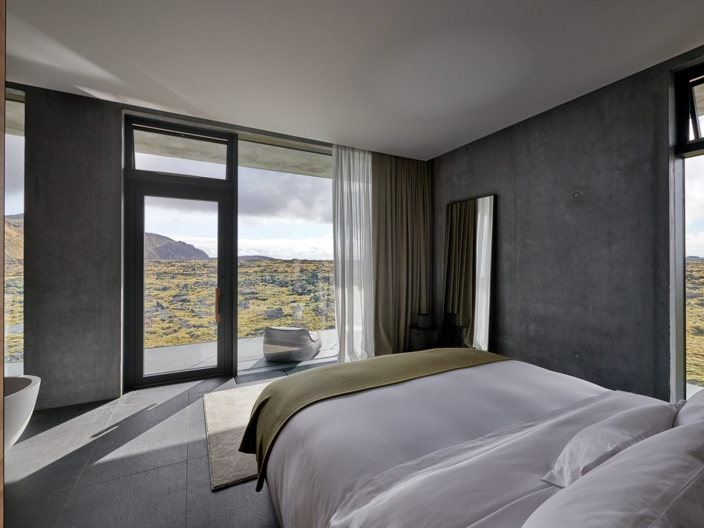 guestroom at Blue Lagoon Iceland